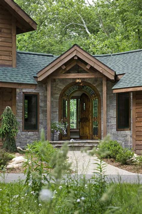 Log Home Front Doors Log Home Front Door For The Home
