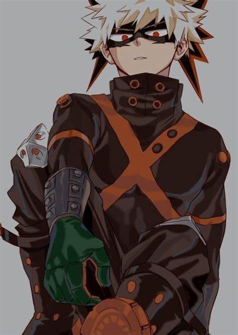 bakugou katsuki winter hero outfit bnha  hero