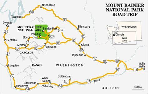 mt rainier national park map mount rainier national park true west magazine