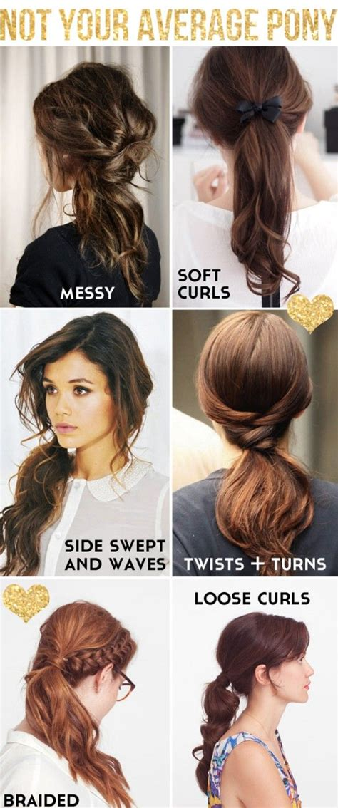Cool Ponytail Hairstyles by 26 Coolest Hairstyles For School Popular Haircuts