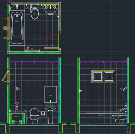 autocad bathroom blocks bathroom free cad blocks and cad drawing