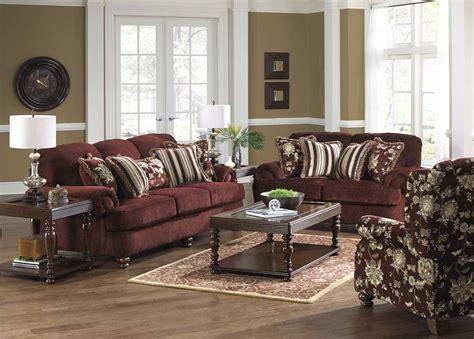 jackson belmont sofa set claret jf 4347 sofa set claret