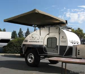 awnings for trailers so cal teardrops options options hannibal awning