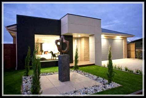 find the best modern small home exterior design in