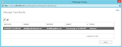 Office 365 Message Trace How To Perform An Extended Message Trace In Office 365