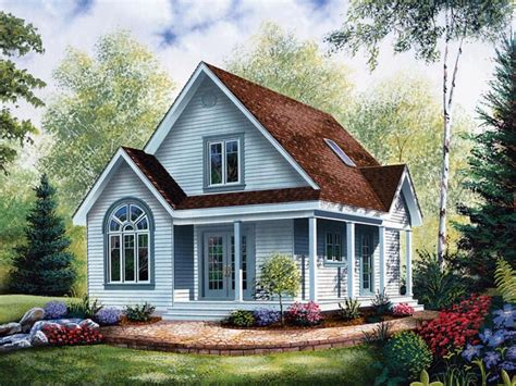tiny cottage plans cottage style house plans with porches economical small