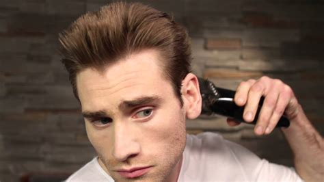 grade two haircut touch control hair clipper skills men s cropped grade 3