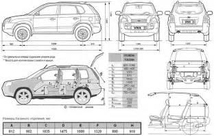 Length Of Hyundai Tucson Hyundai Tucson Kia Sportage Ii 2wd 4wd