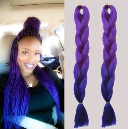 36 best images about ombre box braids/braiding hair on
