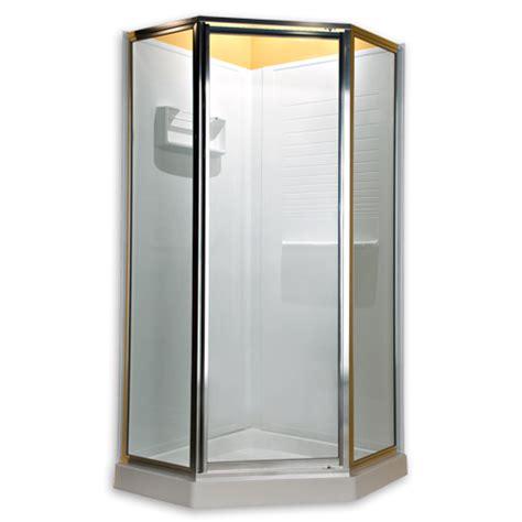 American Standard Frameless Shower Doors American Standard Am00eqf 400 213 Prestige Frameless Pivot Neo Angle Shower Door Fits 36 Inch