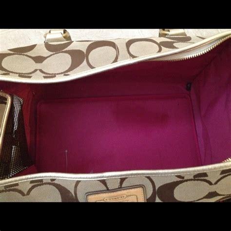 coach carrier 60 coach handbags coach carrier from sheilah s closet on poshmark