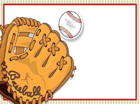 baseball invitation template baseball invitations gangcraft net