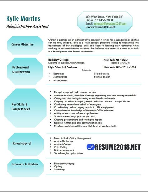 Resume Sample Driver Position by Administrative Assistant Resume Examples 2018 Resume 2018