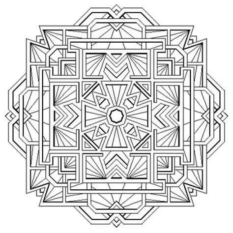 Mandala Madness Tibetan Mandala For Coloring Tibetan Mandala Coloring Pages