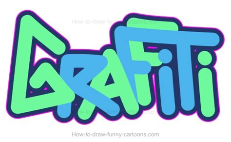 the word in graffiti how to draw graffiti images