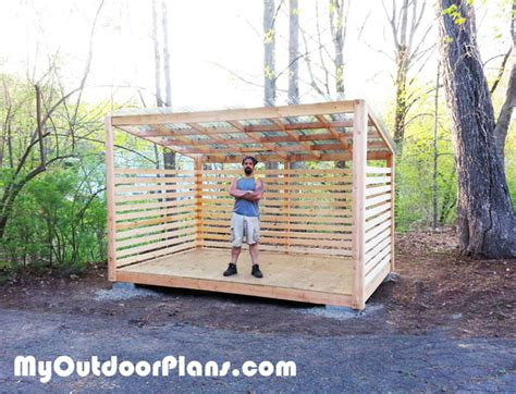 wood storage shed myoutdoorplans  woodworking