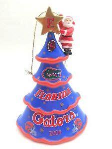 danbury mint 2015 florida gators christmas ornament 2008 danbury mint florida gators football tree with santa ornament