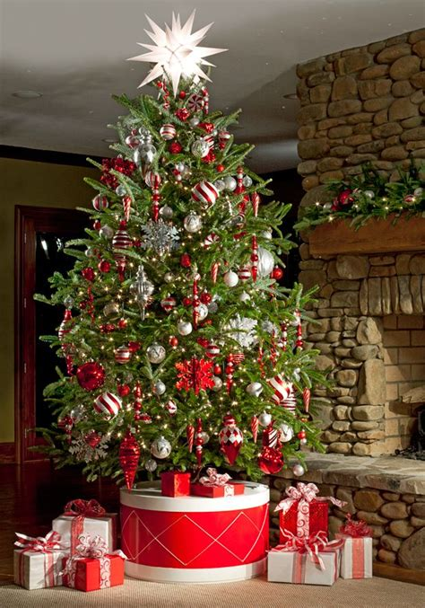 30 unique christmas tree stand decoration ideas