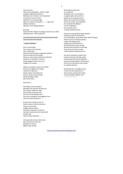 membuat puisi nasehat kumpulan puisi perpisahan terbaru