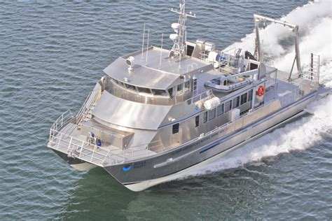 catamaran research ship aluminum boat for sale alaska build your own pontoon