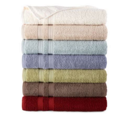 jcpenney bath towels on sale