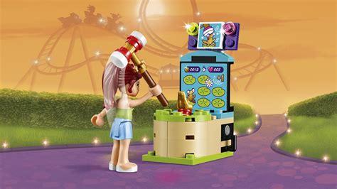 Lego Friends Park lego friends amusement park arcade construction set multi coloured