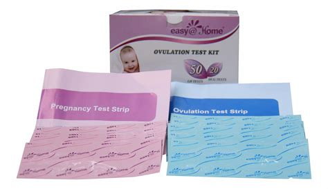 easy home branded 50 ovulation lh and 20 pregnancy hcg