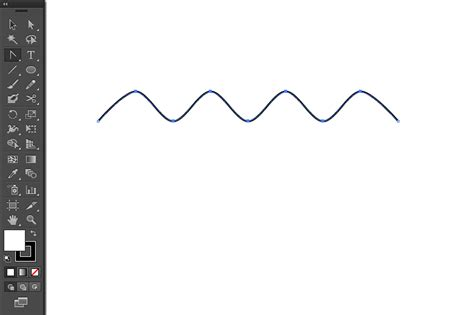 how to make a zigzag pattern in illustrator how to make wavy or zigzag lines in illustrator