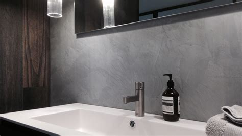 Badezimmer Fliesen Und Putz by Polished Plaster Bathrooms Stucco Stucco