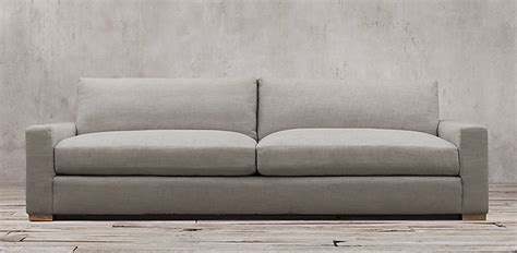 sofas restoration hardware