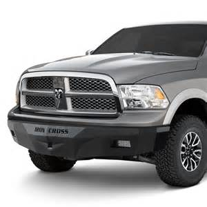 2012 Dodge Ram Front Bumper Iron Cross 174 Dodge Ram 2012 Rs Series Width Black