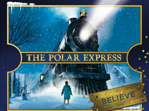 film natal the polar express film polar express events