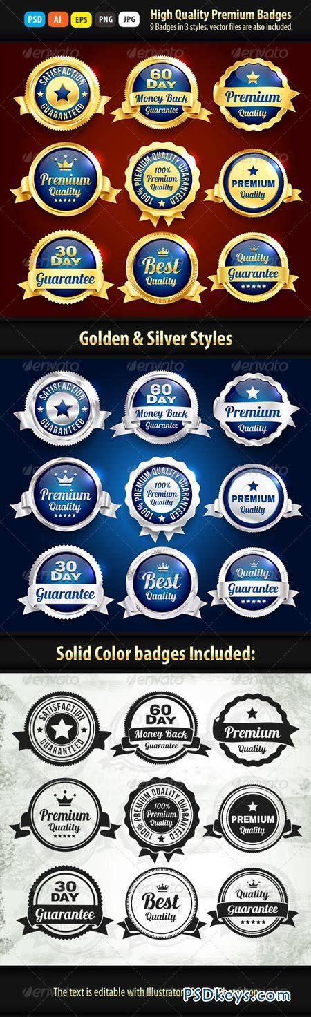 Retro 4 Money Premium High Quality gold and silver premium quality badges 6914447 187 free