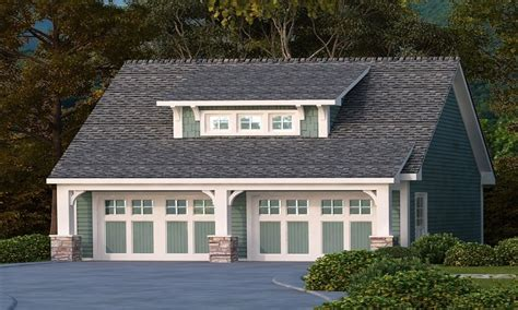House Plan With Detached Garage | detached garage craftsman bungalow craftsman style