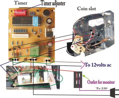 pisonet timer pisonet wiring diagram