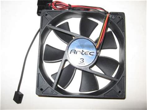 antec tricool 120mm fan antec 174 tricool 3 speed black 120mm x 25mm case fan ebay