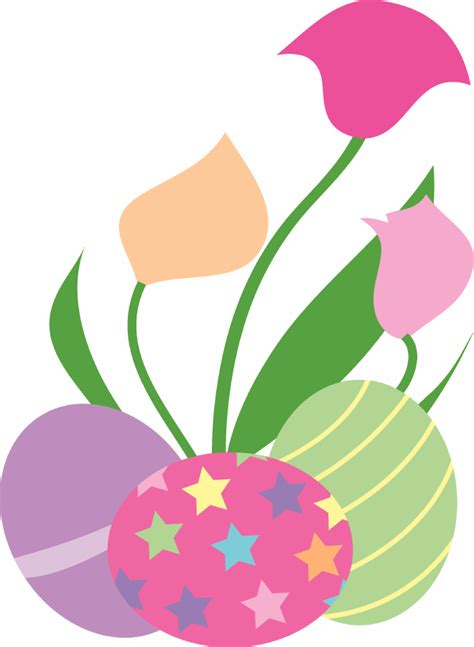 free printable easter flowers clipart for easter clipart best