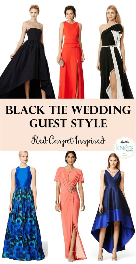 Wedding Attire Black Tie by Black Tie Wedding Guest Carpet Inspired Black