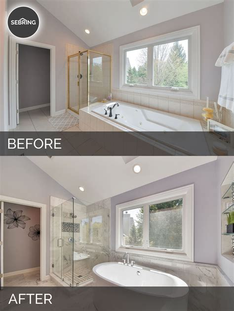 bathroom remodel ideas before and after 96 master bathroom remodel before and after small