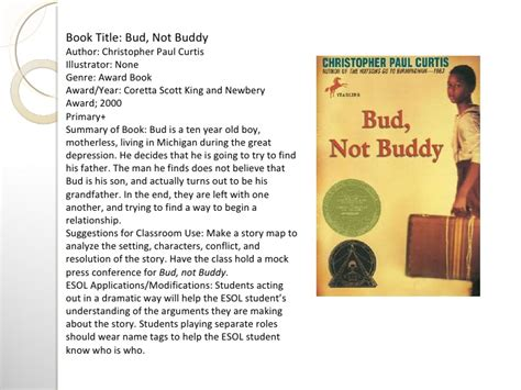 Bud Not Buddy Essay by Complete Reading Response Project Spicer