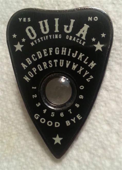 printable ouija board planchette black ouija planchette lapel pin