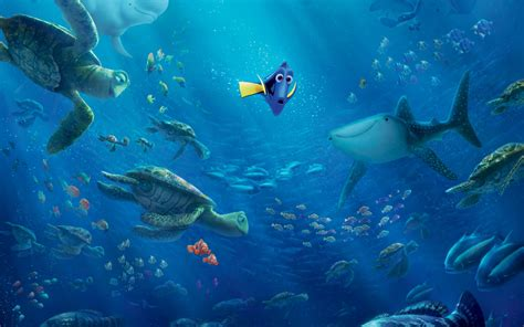 wallpaper finding dory movies  wallpaper  iphone