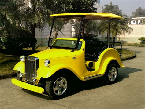 Golf Auto Club by Open Design 4 Person Electric Golf Car Club Car Buy Golf