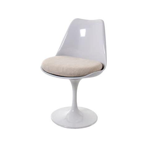 eero saarinen dining chair tulip chair swivel seat  arms design dining chair