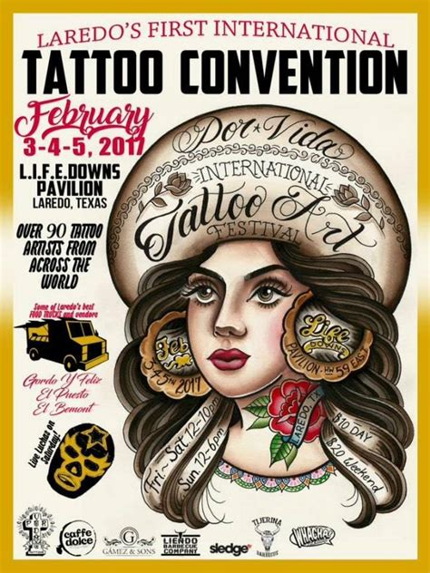 tattoo shops laredo tx 1st por vida international festival tattoofilter