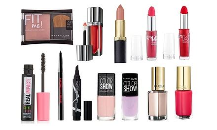 Makeup Inez 1 Set l oreal and maybelline make up set groupon
