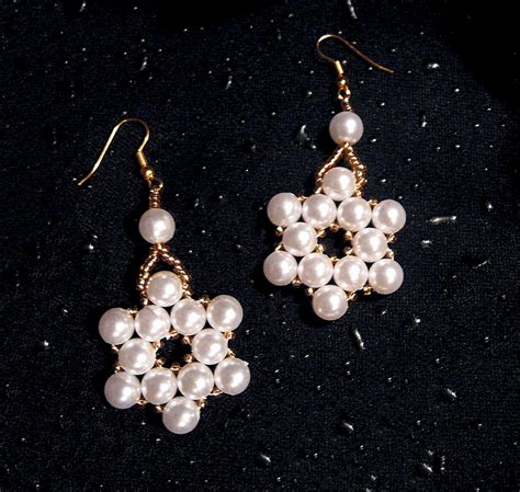 free earring patterns seed free pattern for earrings pearl of the magic
