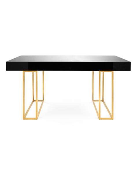 burnished gold desk base
