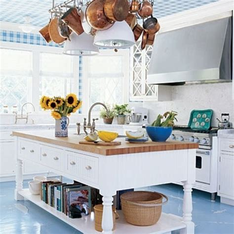 blue white and wood kitchen ideas kitchen