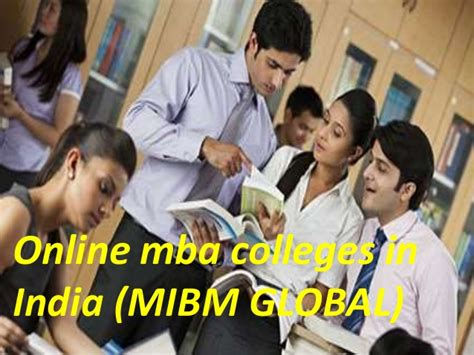 Mba It In India by For A Better Career Mba Colleges In India
